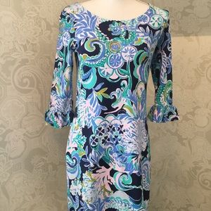 "Lilly Pulitzer Lula Dress ""Sirens & Spirits - S"